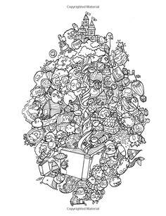 Amazon.com: Doodle Chaos: Zifflin's Coloring Book (Volume 3) (9781523834778)…