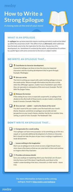 What is an Epilogue — and How To Write an Effective One