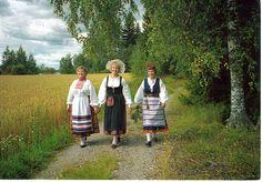Finland 3 verschillende drachten