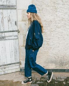 """STORY mfg. AW16 """"Tulpa Trek"""" - link to full collection preview in bio! STORY mfg.'s AW16 collection titled """"Tulpa Trek"""" takes inspiration from ramblers walkers foragers strollers hikers and casual campers to create a wardrobe of unisex British """"Walk Wear"""". Heavily influenced by the drizzle and chill of British winter weather the collection features rain patterns realised in ikat weaves natural indigo paint and laser scorching on denim. Once again natural dyes gathered both home and away…"""