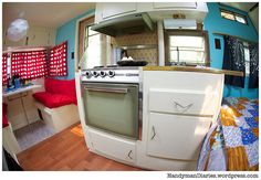 Vintage trailer interior...something for my lil sister