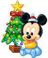 Disney Christmas gifs.