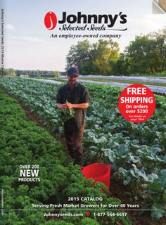 69 Free Seed and Plant Catalogs: Johnny's Selected Seeds Catalog