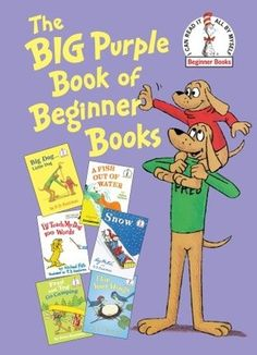The Big Purple Book of Beginner Books (Hardcover) #DeseretBookPinWish