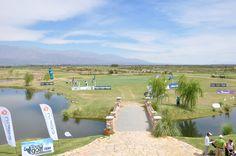 La mejor cancha de Golf de Sudamérica, Estancia de Cafayate, en Salta.
