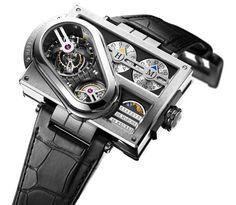 6 Very Strange, Very Expensive Watches - Harry Winston Histoire De Tourbillon 3 Dream Watches, Fine Watches, Men's Watches, Cool Watches, Fashion Watches, Unique Watches, Harry Winston, Amazing Watches, Beautiful Watches