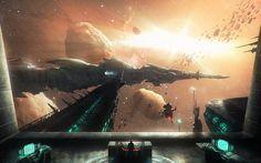 The black arrow by David Demaret #space #scifi