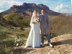 Mariage fin octobre 2016 en robe de mariée de chez Mariage en Rose