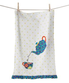 Love this Teatime Dish Towel on #zulily! #zulilyfinds