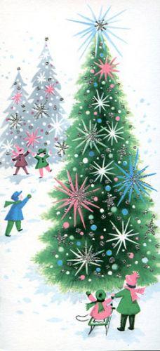 Creative: Eleven Vintage Christmas Cards #vintage #christmas #vintagechristmas