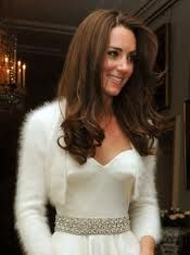 Kate is always stunning! Great bridal look here.