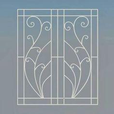 Window Grill Design Modern, Grill Door Design, Modern Design, Iron Windows, Windows And Doors, Iron Window Grill, Burglar Bars, Door Grill, House Staircase