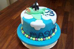Shawn the sheep childs birthday cake