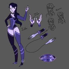 SUOC- Iolite by XombieJunky on DeviantArt