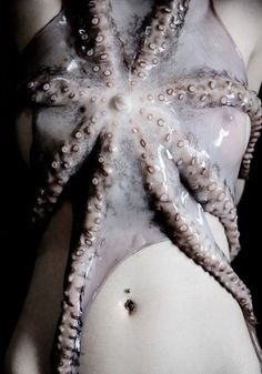 Octopus Embrace #tentacle #nude