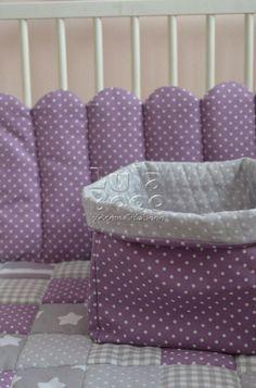 Бортики в кроватку, буквы подушки, LulaBooo   VK