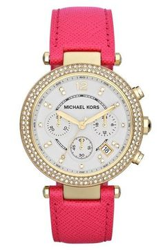 So this is my watch, only in pink. I think I now need it in this color too. This was made for me...thanks Michael.
