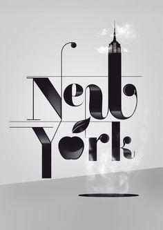 New york graphics + typography дизайн плаката, манхэттен и шрифты. New York Poster, Poster S, Design Fonte, Graphisches Design, Graphic Design, Creative Design, Logo Design, Patten Design, Interior Design