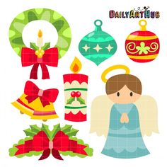 Assorted Christmas Decors