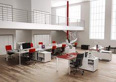 Estación de trabajo múltiples Colección ONLINE3 by MASCAGNI | diseño Lorenzo Negrello - S.I. Design