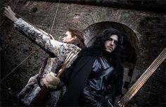 Jon Snow and Ygritte - Simone(Drawen) Jon Snow,  Ygritte Cosplay Photo