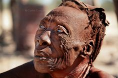 """""""Old Himba woman"""" by Carlos Cass"""