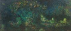 The Abreuvoir Night / The Dream of a Summer Night ~ Leonor Fini
