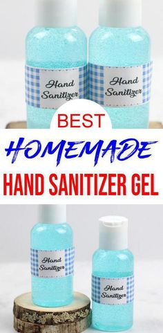 BEST DIY Hand Sanitizer – Homemade Gel DIY Hand Sanitizer Recipe – Great for Kids and Adults – Essential Oil Hand Sanitizer - Check out this hand sanitizer gel easy and simple to make. Learn how to make homemade hand sanitizer - Cedarwood Essential Oil, Chamomile Essential Oil, Essential Oils, Cool Diy, Easy Diy, Diy Crafts, Aloe Vera, Home Made Hand Sanitizer, Diy