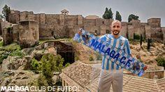 #Amrabat en la #Alcazaba #Presentación #MálagaCF