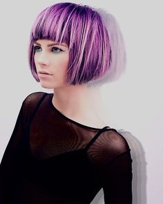 50 Styles for Short Hair with Bangs — Rock Those Locks Check more at http://hairstylezz.com/best-styles-short-hair-with-bangs/