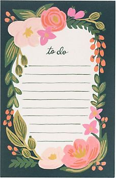 """Roslie Rifle Note Pad. This screams, """" Buy me for Claire! She needs me!"""""""