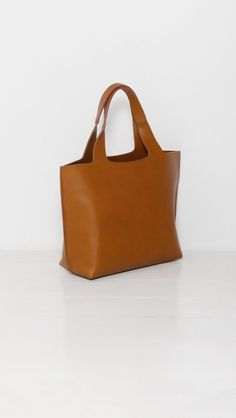 Robert Clergerie Casa Tote In Amber The Dreslyn