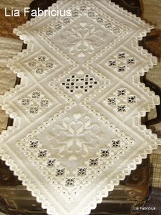 Hardanger Embroidery hardanger More - Types Of Embroidery, Learn Embroidery, Embroidery For Beginners, Embroidery Techniques, Embroidery Patterns, Hardanger Embroidery, Silk Ribbon Embroidery, Floral Embroidery, Cross Stitch Embroidery
