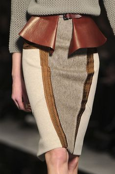 Etro Fall 2012 - Details. Love that Peplum Belt!!!! Doncaster...We have a beautiful Black one!