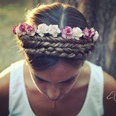 #novia #trenzas www.queridavalentina.es