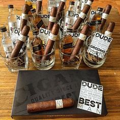 Can you say best groomsman gift ever?! Awesome job by @scotchservedneat, he's got some lucky groomsmen.