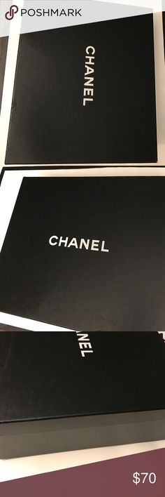 Chanel Large Box -12.75x11.25x4.5 Excellent Condition! Could be used for Handbag , Shoes, etc. No defects CHANEL Bags