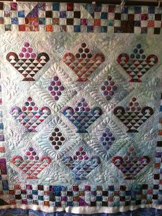 basket quilt by Jessica's Quilting Studio
