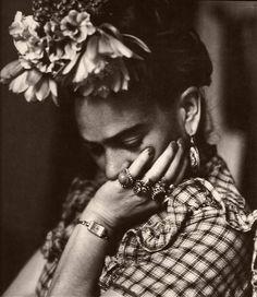 Frida Kahlo #arte #fotografia #personaggi