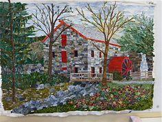 landscape quilt - Google Search