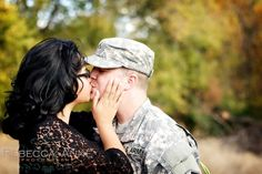 Fall in love with a military man.... ;)