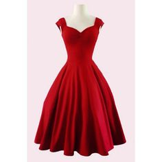 $19.44 Retro Sweetheart Neck Solid Color Sleeveless Dress For Women