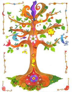 A more fanciful view of the Tree....eL BoOK de daNieLa VioLi: febbraio 2010