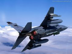 RAF Jaguar in Afterburner Banking Military Jets, Military Weapons, Military Aircraft, Airplane Fighter, Fighter Aircraft, Fighter Jets, Rolls Royce, Image Avion, Jaguar Pictures