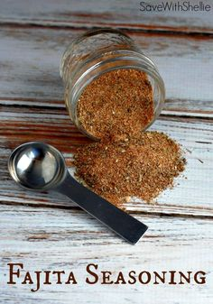 Why buy Fajita Seasoning laced with chemicals when you can make your own natural blend with a few simple ingredients?
