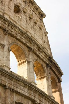 Colosseum in Rome. #travel #rome