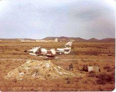 Malvinas 1982 A4 C Correteando en BAM San Julian.