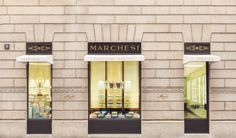 The sweetest side of fashion, MARCHESI BY PRADA OPENS IN MILAN The historic confectionery brand owned by Prada inaugurates a new sales point at the focal point of Milan's fashion district #baciocchi #biscuits #brioches #cakes #caramels #cherrywood #chocolates #dessert  #greenvelvet #marchesi #milan, #montenapoleone #pastries, #PRADA #pralines #WesAnderson