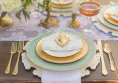 Mint And Gold Romantic Latin Inspired Wedding Inspiration   Weddingomania