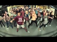 "The Big Bang Theory casts does a quick ""Call Me Maybe"" flash mob, followed by Sheldon, of course, saying ""Bazinga."""